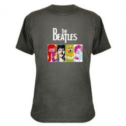Камуфляжная футболка The Beatles Logo