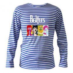 Тельняшка с длинным рукавом The Beatles Logo - FatLine