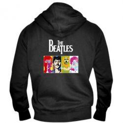 Мужская толстовка на молнии The Beatles Logo - FatLine