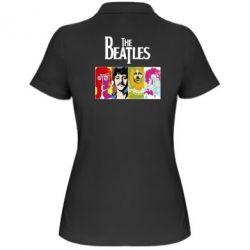 Женская футболка поло The Beatles Logo - FatLine