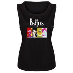 Женская майка The Beatles Logo - FatLine