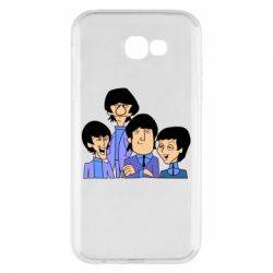 Чехол для Samsung A7 2017 The Beatles - FatLine