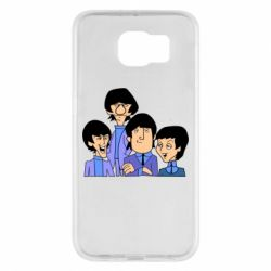 Чехол для Samsung S6 The Beatles - FatLine