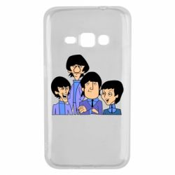 Чехол для Samsung J1 2016 The Beatles - FatLine