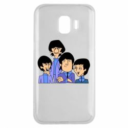 Чехол для Samsung J2 2018 The Beatles - FatLine