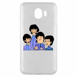 Чехол для Samsung J4 The Beatles - FatLine
