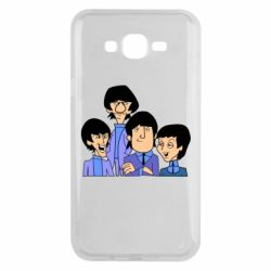 Чехол для Samsung J7 2015 The Beatles - FatLine