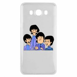 Чехол для Samsung J7 2016 The Beatles - FatLine