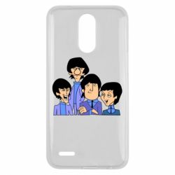 Чехол для LG K10 2017 The Beatles - FatLine