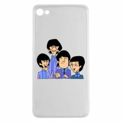 Чехол для Meizu U20 The Beatles - FatLine