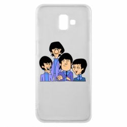 Чехол для Samsung J6 Plus 2018 The Beatles - FatLine