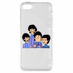 Чехол для iPhone5/5S/SE The Beatles - FatLine