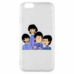 Чехол для iPhone 6/6S The Beatles - FatLine
