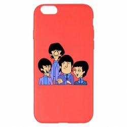 Чехол для iPhone 6 Plus/6S Plus The Beatles - FatLine