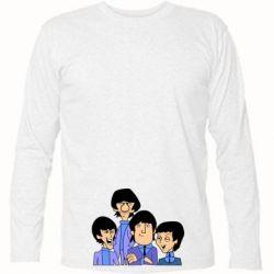 Футболка с длинным рукавом The Beatles - FatLine