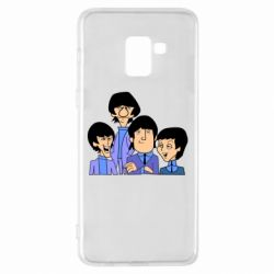 Чехол для Samsung A8+ 2018 The Beatles - FatLine
