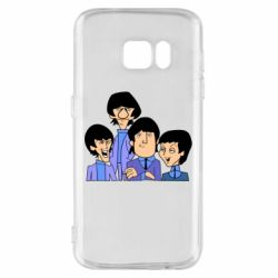 Чехол для Samsung S7 The Beatles - FatLine