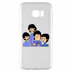 Чехол для Samsung S7 EDGE The Beatles - FatLine