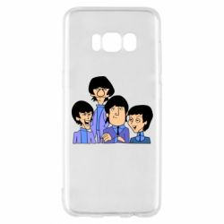 Чехол для Samsung S8 The Beatles - FatLine