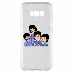 Чехол для Samsung S8+ The Beatles - FatLine