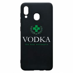 Чехол для Samsung A30 The best antiseptik Vodka