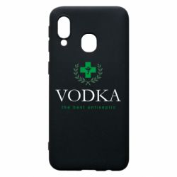 Чехол для Samsung A40 The best antiseptik Vodka