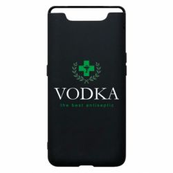 Чехол для Samsung A80 The best antiseptik Vodka