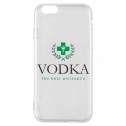 Чехол для iPhone 6/6S The best antiseptik Vodka