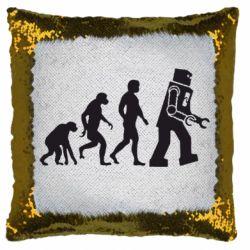 Подушка-хамелеон The Bing Bang theory Evolution
