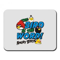 Коврик для мыши The bird in world Angry Birds - FatLine