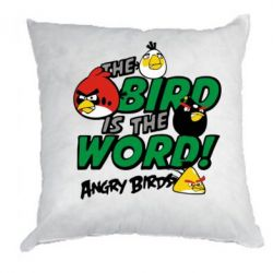 Подушка The bird in world Angry Birds - FatLine