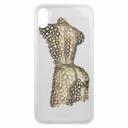 Чехол для iPhone Xs Max The body of a girl from the grommets