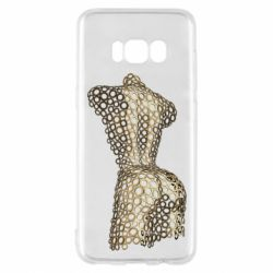 Чехол для Samsung S8 The body of a girl from the grommets