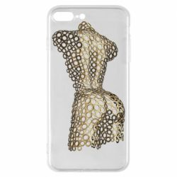 Чехол для iPhone 8 Plus The body of a girl from the grommets