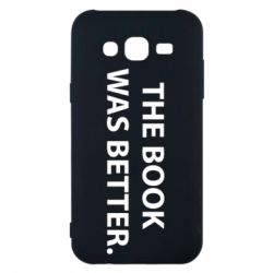 Чехол для Samsung J5 2015 The book was better. - FatLine