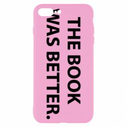 Чехол для iPhone 7 Plus The book was better. - FatLine
