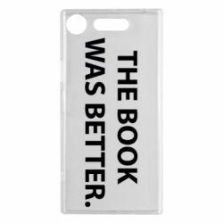 Чехол для Sony Xperia XZ1 The book was better. - FatLine