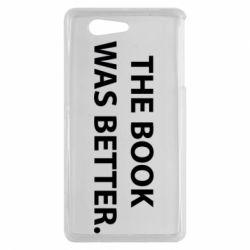 Чехол для Sony Xperia Z3 mini The book was better. - FatLine