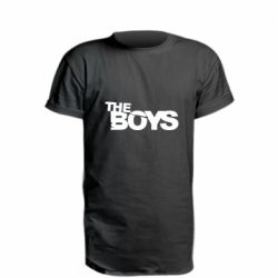 Удлиненная футболка The Boys logo
