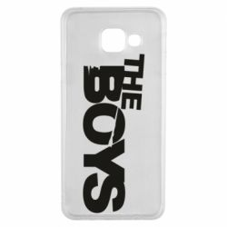 Чехол для Samsung A3 2016 The Boys logo