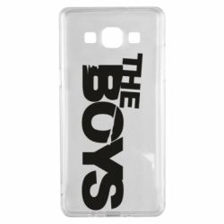 Чехол для Samsung A5 2015 The Boys logo