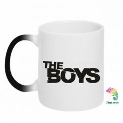Кружка-хамелеон The Boys logo