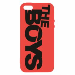 Чехол для iPhone5/5S/SE The Boys logo