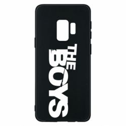 Чехол для Samsung S9 The Boys logo