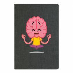 Блокнот А5 The brain meditates