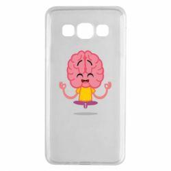 Чохол для Samsung A3 2015 The brain meditates