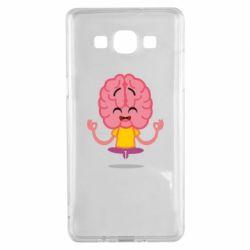 Чохол для Samsung A5 2015 The brain meditates