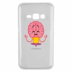 Чохол для Samsung J1 2016 The brain meditates