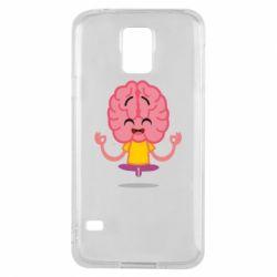 Чохол для Samsung S5 The brain meditates
