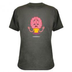 Камуфляжна футболка The brain meditates
